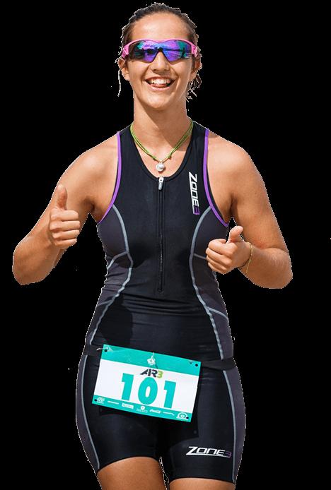 Aquathon Female Runner